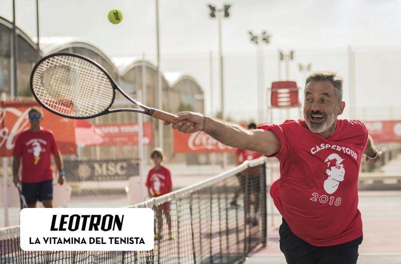 Leotron, la vitamina oficial del tenista