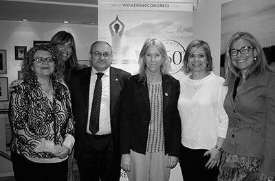 Neus Munte Consellera participa en la Cena Health Network
